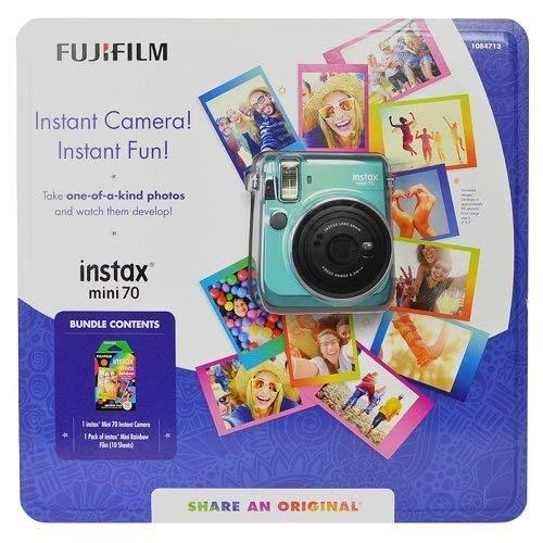 Fujifilm Instax Mini 70 - Instant Film Camera (Mint) by Fujifilm