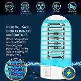 ROMUCHE Mosquito Killer Lamp Zapper, 4Pack Mini Mosquito Killer Lamp-Indoor Electronic Insect killer-Electronic Insect Trap Harmless for Human & Pet