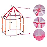 Princess Castle Play Tent Indoor Outdoor Playhouse Beach Tent Baby playing Toy Portable House