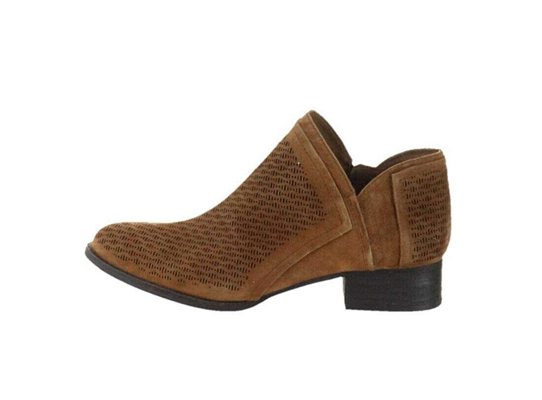 Vince Camuto Perforated Suede Booties Clorieea A310635