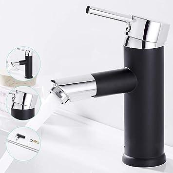 Design 360° schwenkbar Armatur Wasserhahn Waschtischarmatur Einhebelmischer PM
