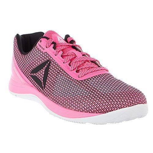 Reebok Men's CROSSFIT Nano 7.0 Sneaker, Poison Pink/Black/White, 11.5 M US