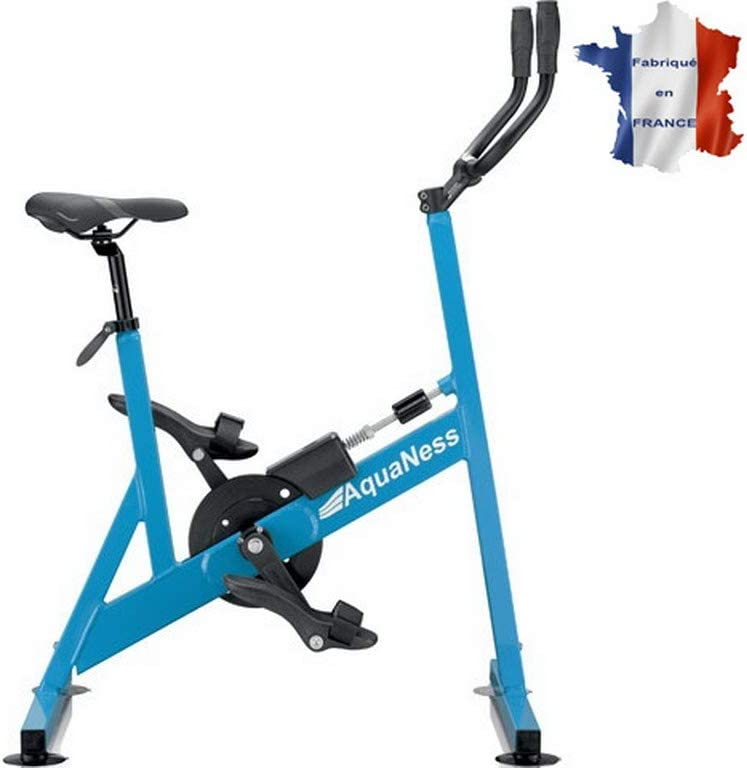 Aquaness v2 - Bicicleta acuática de Piscina, Color Azul: Amazon.es ...