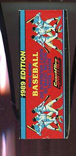 1989 Sportflics Baseball Card Complete Set Factory Box ()