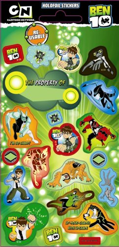(Ben 10 - Fun Foiled Stickers)