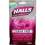 HALLS Sugar-Free Cough Drops, (Black Cherry, 25 Drops, 12-Pack)