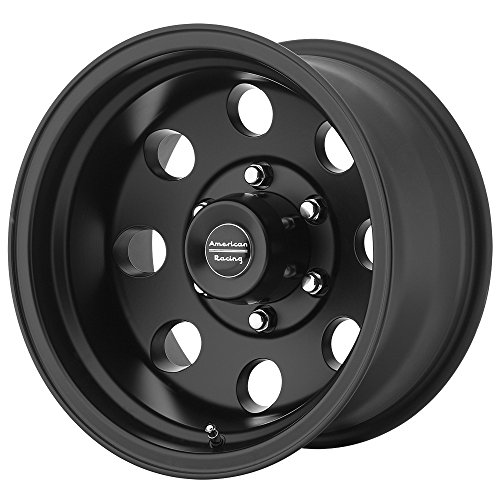 American Racing AR172 Baja Satin Black Wheel (17×9″/5x127mm, -12mm offset)
