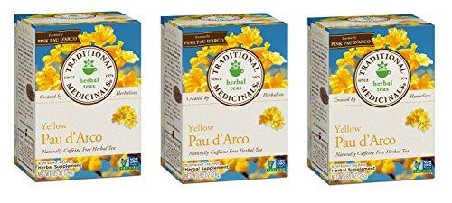 Traditional Medicinal's Pau d'Arco Herb Tea (3x16 Bag)