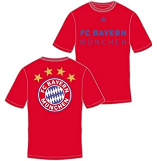 FC Bayern Munich adidas Primary One Red T-shirt
