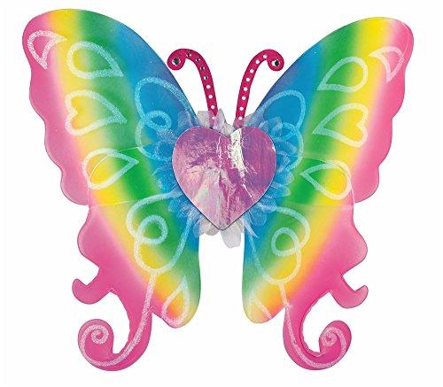 Forum Novelties 74729 Party Supplies Women's Fairy Wings, Rainbow, -