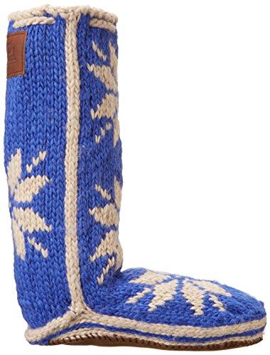 Woolrich Kvinnor Skid Socka Toffel Safir