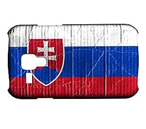 Funda Carcasa para Galaxy S3 Mini Bandera ESLOVAQUIA 04