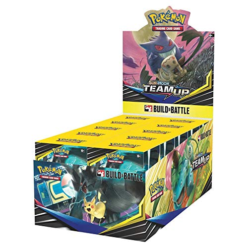 Pokémon TCG Team Up Build & Battle Box Prerelease Kit Display of 10 Kits Sealed