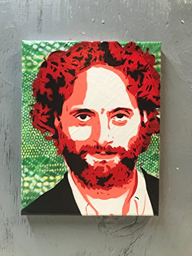 """Jason Mantzoukas Painting - 8""""x10""""x1"""" Paint on Gallery Canvas - Ready to Hang"""