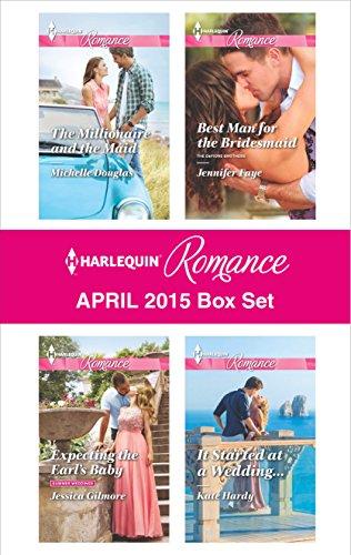 book cover of Harlequin Romance April 2015 Box Set