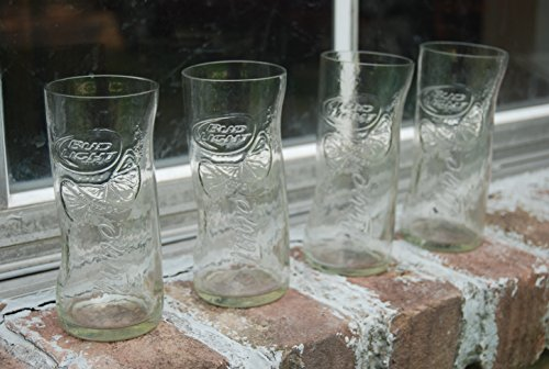 Set of 4 Bud Light With Lime upcycled ()