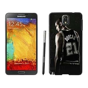 New Custom Design Cover Case For Samsung Galaxy Note 3 N900A N900V N900P N900T San Antonio Tim Duncan 1 Black Phone Case wangjiang maoyi