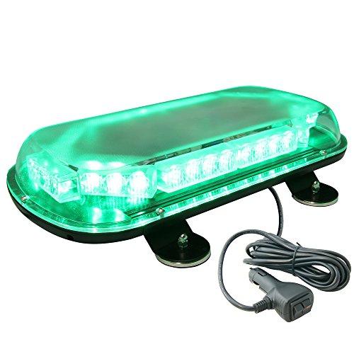 LAMPHUS SolarBlast 34W LED Emergency Vehicle Warning Strobe Mini Light Bars AVAILABLE – GREEN