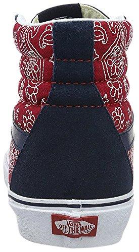 Éxito De Ventas Para La Venta Fiable Barato VANS - SK8-HI REISSUE Bandana stitch dress blues chili pepper FfxfOQQ
