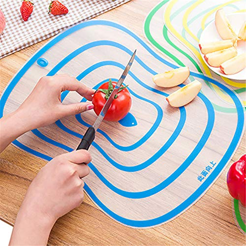 Kitchen Gadgets 1Pcs Plastic Chopping Frosted Cutting Board Kitchen Cutting Board Vegetable Meat Tools Kitchen Accessories Green small