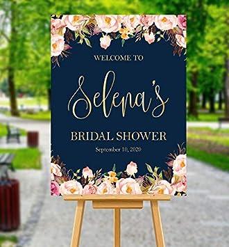Amazon.com: Dozili - Señal de bienvenida para novia, boda ...