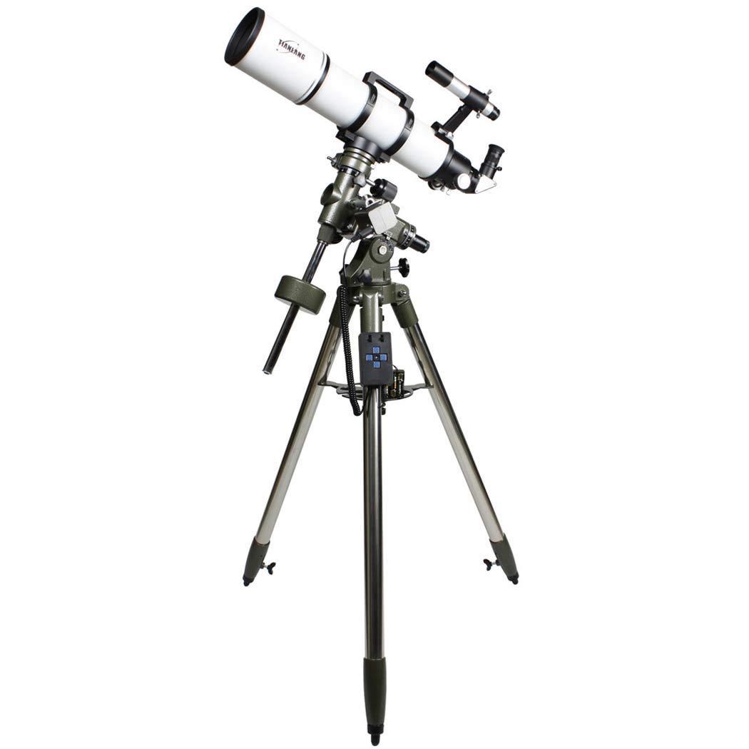 GGPUS TQ4-HS102DS Focal Length 600Mm, 630 Finder Mirror, 360 Degree Rotation, Telescope Refracting Telescope Adjustable Portable Travel Telescopes for Astronomy,Electric by GGPUS