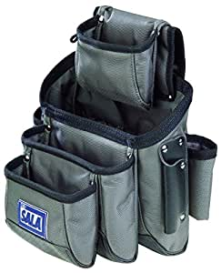 3M DBI-SALA 9504072 15-Pocket Tool And Equipment Pouch, Installs To Most Belts, Blue/Grey