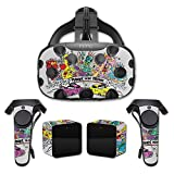 MightySkins Protective Vinyl Skin Decal for HTC Vive wrap Cover Sticker Skins Punks in The Trunk