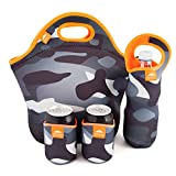 Nordic by Nature Big Insulated Extra Large Neoprene Lunchbox Tote Lunch Bag ...