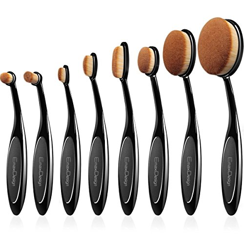 emaxdesign-makeup-brushes-8-pieces-oval-makeup-brush-set-professional-foundation-concealer-blending-