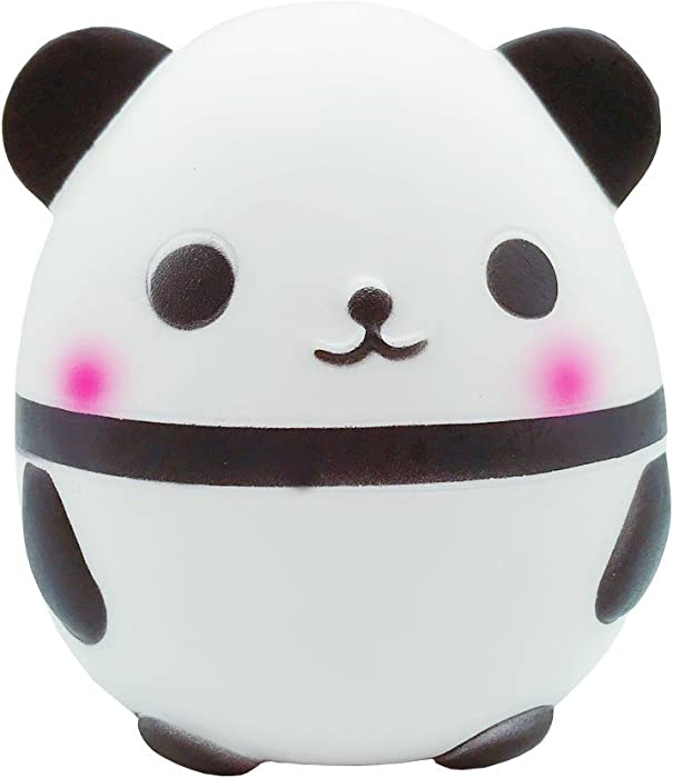 Ouflow Jumbo Panda Squishy Kawaii Slow Rising Cream Scent Toys Cute Stress Relief Doll for Kids