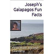 Joseph's Galapagos Fun Facts