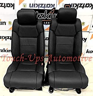 Wondrous Amazon Com Katzkin Leather Seat Covers Kit For 2015 2019 Squirreltailoven Fun Painted Chair Ideas Images Squirreltailovenorg
