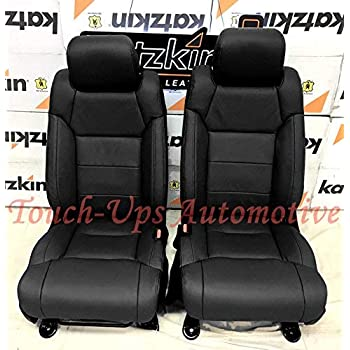 Amazon Com Katzkin Black Leather Seat Covers For 2014 2015 2016 2017 2018 2019 Toyota