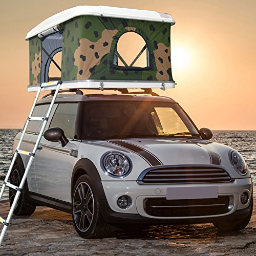 Waterproof Hard Shell Roof Top Tent For Car& Truck Camping Car - Import It  All