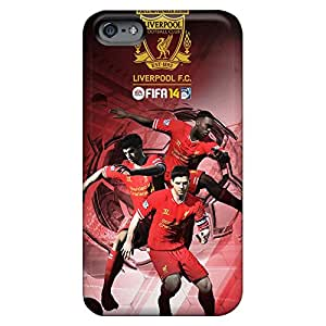High-definition mobile phone shells Snap On Hard Cases Covers Slim iphone 4 4s case 6p - fifa 14 liverpool