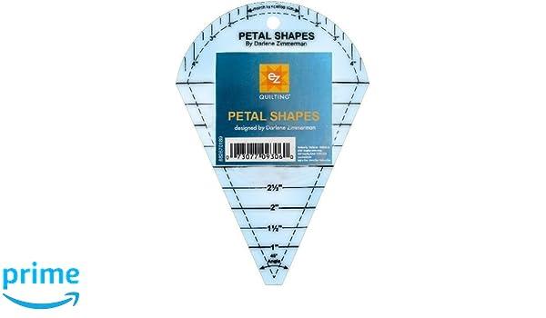 Amazon.com: EZ International 882670189 Petal Shapes Template