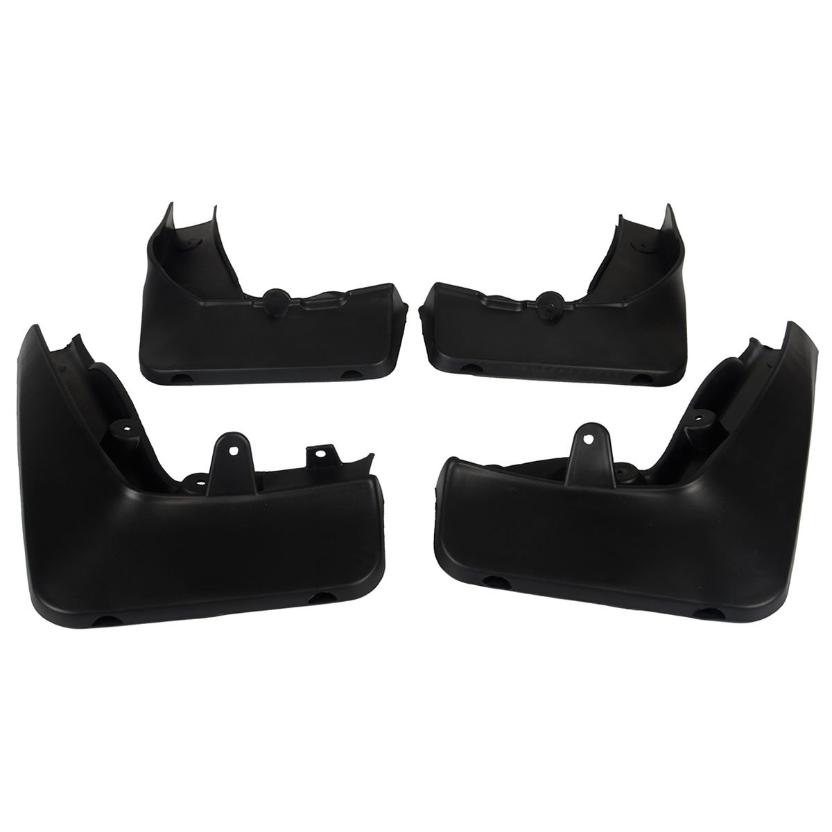 Set of 4 Front and Rear Mud Flaps Splash Guards for BMW E84 X1 2010-2015 YTAUTOPARTS
