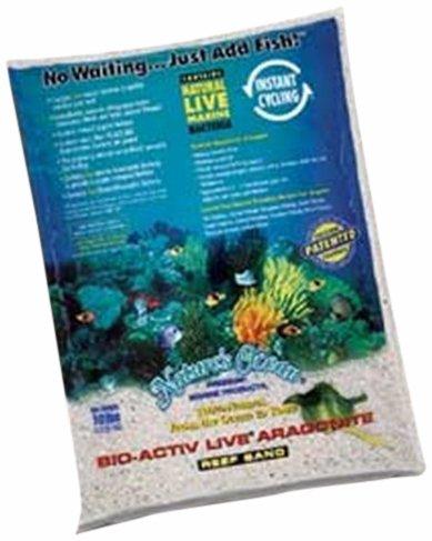 Worldwide Imports AWWA20701 4-Piece Live Aragonite Sand for Aquarium Decor, 10-Pound by Worldwide Imports