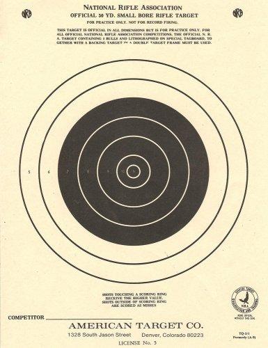 (100) TQ3/1 Paper Shooting Targets Silhouette 7