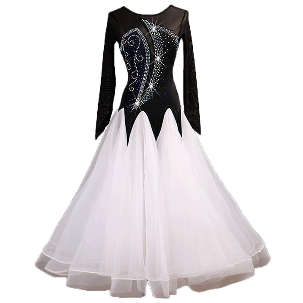 格安新品  大人のプロの社交ダンスの踊りのドレス全国標準のダンススカート現代のダンスパフォーマンスの競争スーツ B07QZ1RRXW B07QZ1RRXW S S s s|白 白 S s, プチコパン:eaa0af83 --- a0267596.xsph.ru