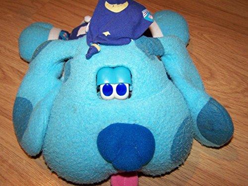 Blues Clues Goodnight Blue Plush Sleepy Time Dog Electronic 1999 Viacom Tyco GUC