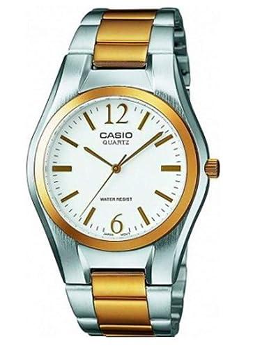 8ae54cf334d054 Casio Montre Femme Analogique Quartz avec Bracelet en Acier Inoxydable – LTP -1280PSG-7AEF