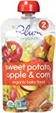 Plum Organics Baby Stage 2 Food, Sweet Potato, Apple and Corn, 4 Ounce (Pack of 6)