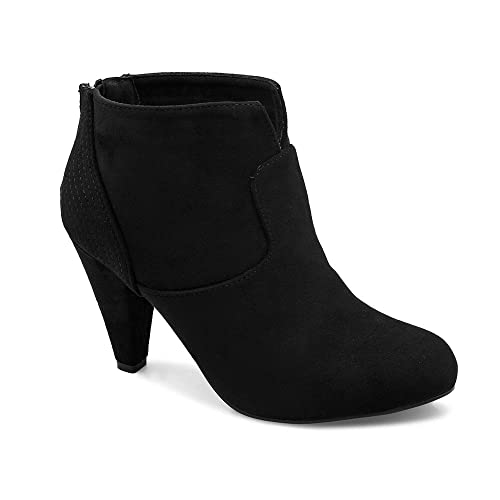tresmode Women's Black Boots Boots at amazon