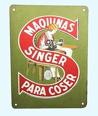 Antiques World Vintage Style Old Paris M Quina De Coser Se Ora Girl Sew 1900 Advertising
