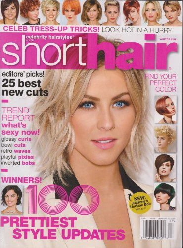 Celebrity Hairstyles #67 Short Hair Magazine Winter 2014 (Hair Celebrity Magazine Styles)