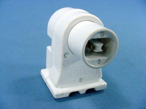 Leviton High Output T8 T12 Fluorescent Light Lamp Holder Socket Plunger 13550 by Leviton