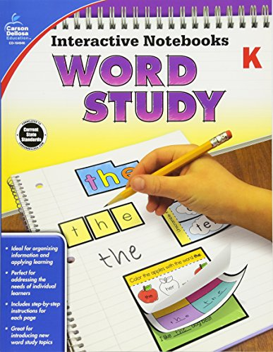 - Interactive Notebooks Word Study, Grade K