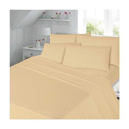 Flannelette Sheet Set Single Bed Bedding Set 100 Cotton Includes 1